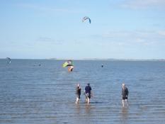 Strand und Nordsee sind ganz nahe dem Ferienhaus Kolks Huus in Neuharlingersiel